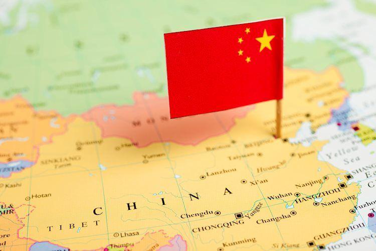 map and flag of china 11902459 Large - اليابان تؤكد الحالة الخامسة لفيروس كورونا، وهونج كونج توقف السفر من الصين